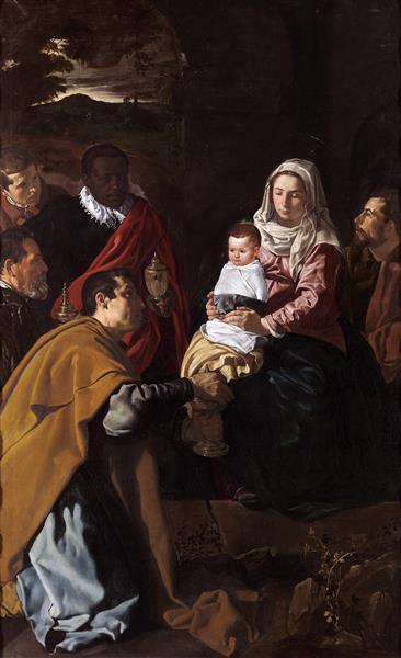 Поклонение волхвов - самые известные картины Диего Веласкеса