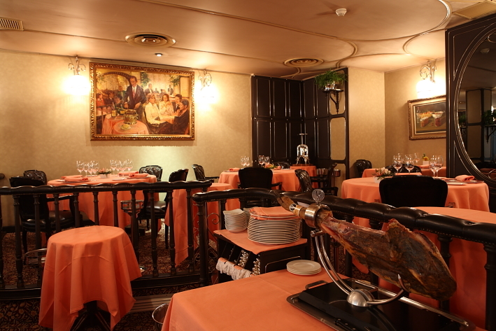 Via Veneto - мишленовские рестораны Барселоны