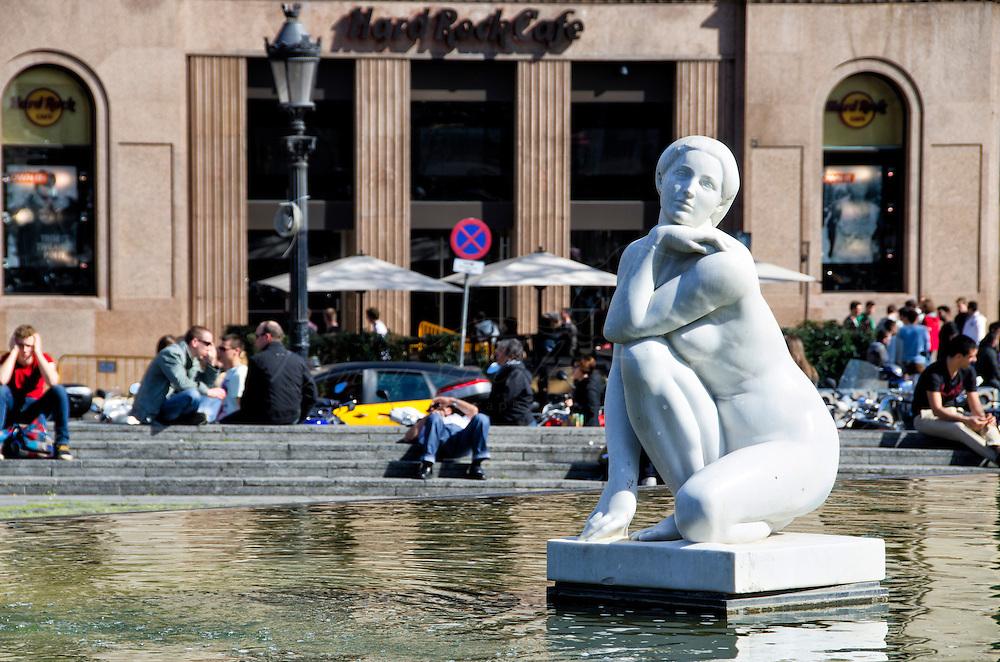 Богиня - памятники Барселоны