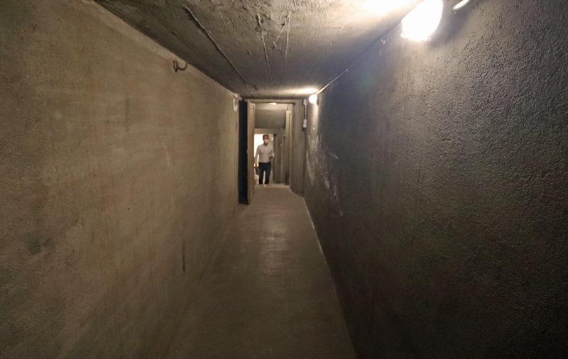 Советский бункер на Тибидабо в Барселоне