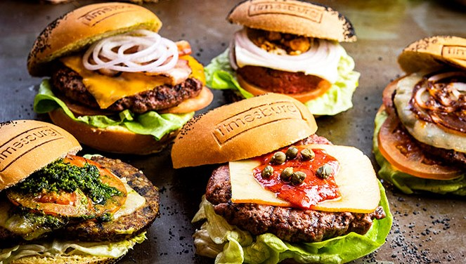 Ресторан Timesburg, интересные гамбургеры в Эшампле