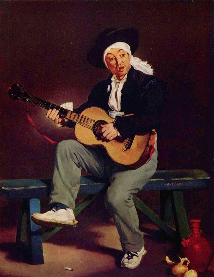 Испанский гитарист - Эдуард Мане
