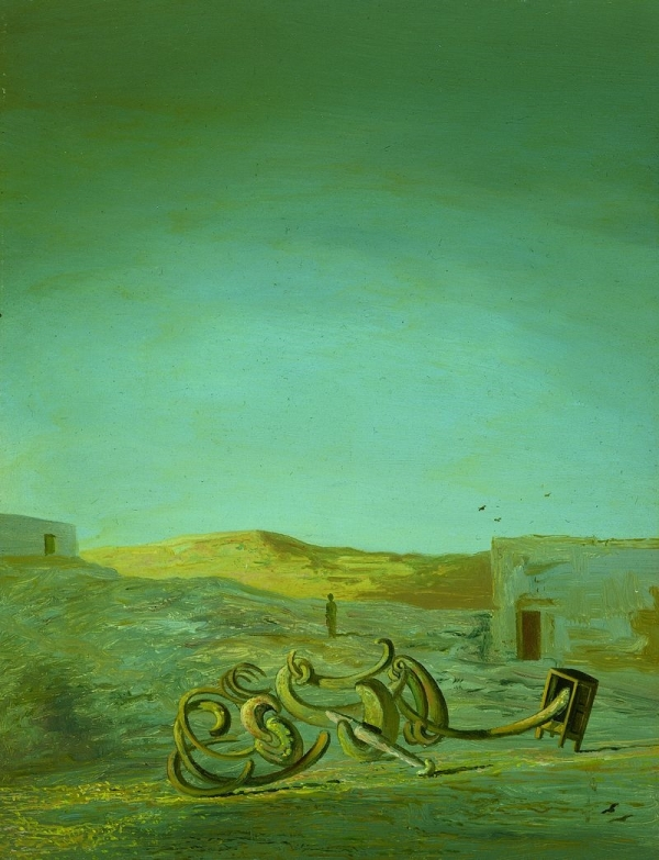 Атмосферный стул (1933) - Сальвадор Дали