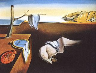 Картины Сальвадора Дали (1931 - 1940) - Постоянство памяти (Мягкие часы)