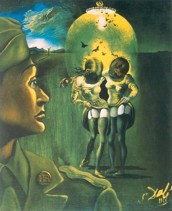 Солдат, будь бдителен! - Сальвадор Дали (1942)