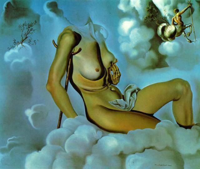 Мед слаще крови (Кровь слаще меда) - Сальвадор Дали (1941)