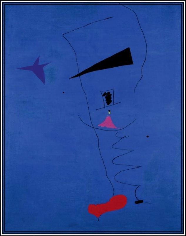 Самая дорогая картина Жоана Миро