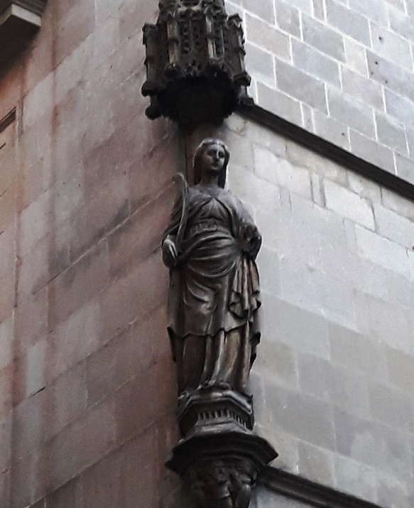 Святая Евлалия - покровительница города Барселона