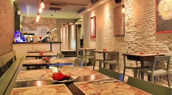 Ресторан Mexcla - мексиканская кухня и коктейли в Грасиа (Барселона)