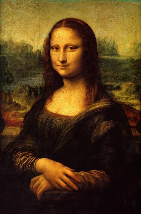 Мона Лиза - картины Леонардо да Винчи в Лувре