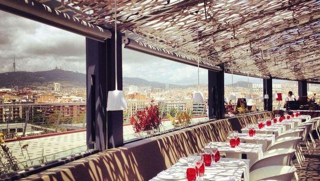Ресторан Abrassame, рыба и морепродукты под куполом Лас-Аренас-де-Барселона