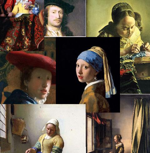 Самые известные картины Яна Вермеера