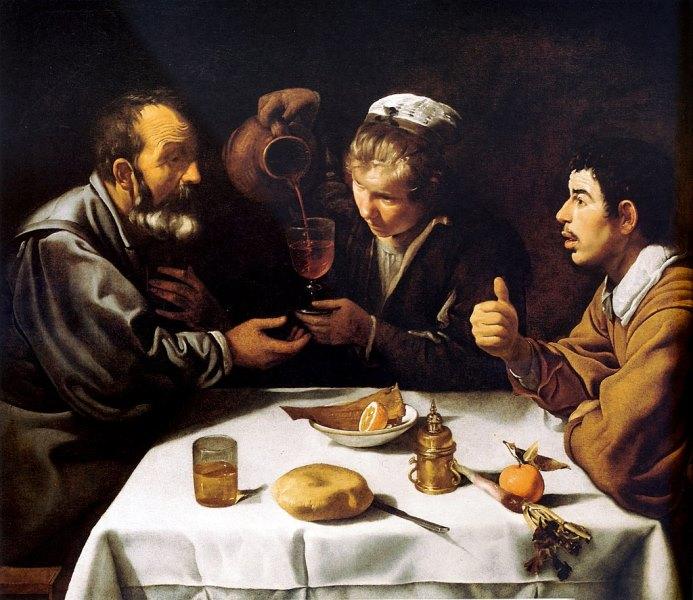 Завтрак - картина Диего Веласкеса