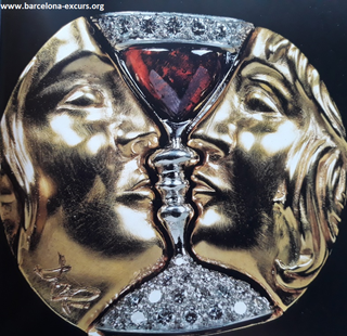 Тристана и Изольда - ювелирные изделия по эскизами Сальвадора Дали