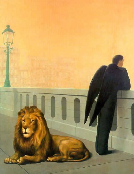 Тоска по родине - Рене Магритт (1940)