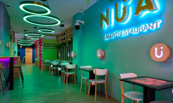 """NÜA Smart Restaurant - первый """"умный"""" ресторан в Барселоне"""