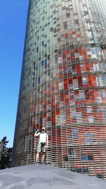 Башня Глориес (Башня Агбар) в Барселоне