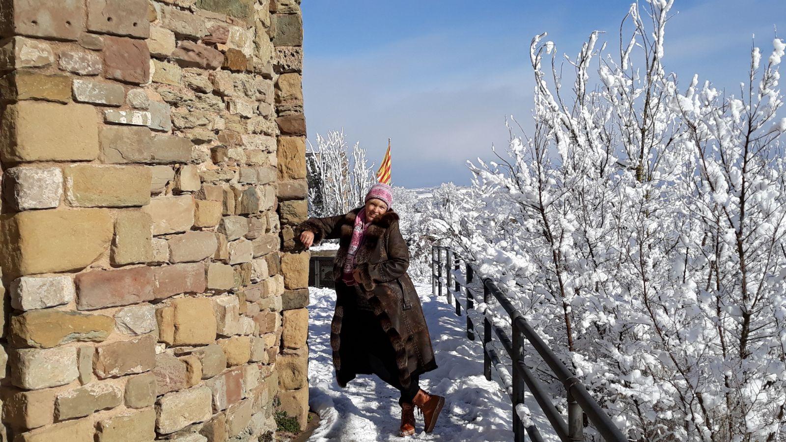 Испания 2021: среди снегов и морозов
