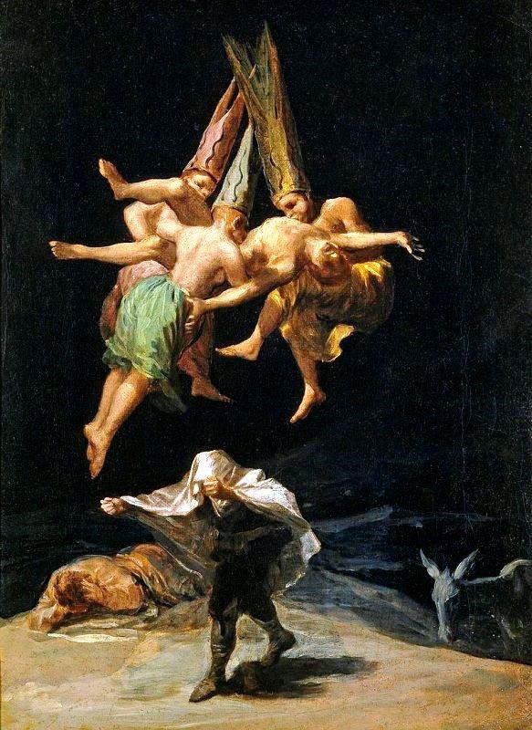 Полет ведьм - Франиско Гойя