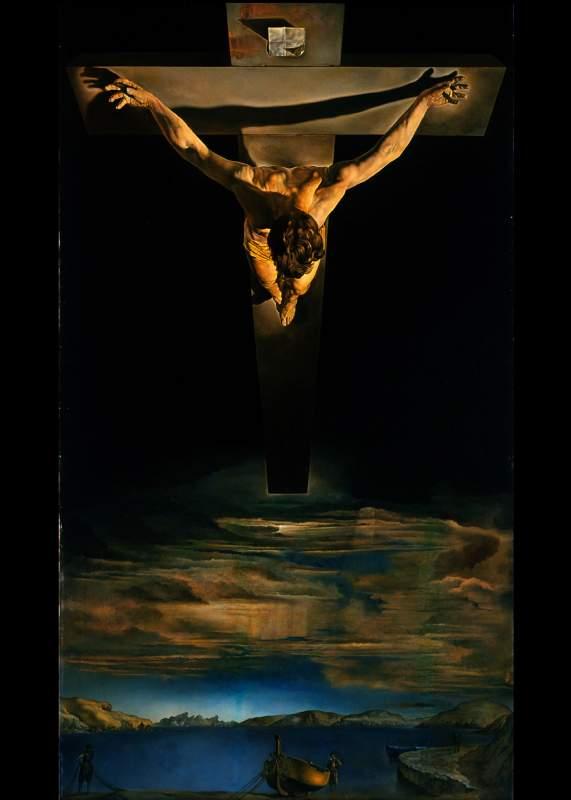 Христос Святого Иоанна Креста - самая дорогая картина Сальвадора Дали