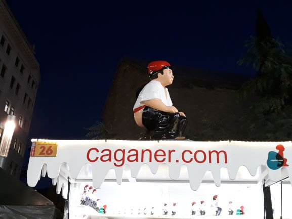 Каганер - забавные каталонские традиции