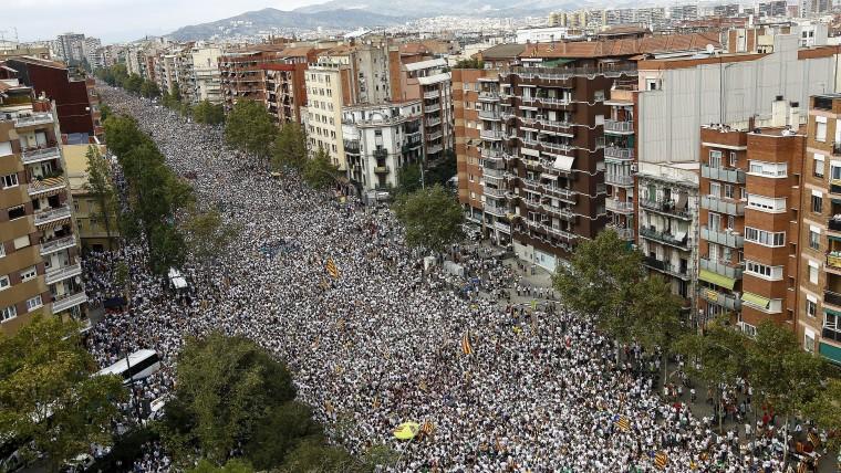 11 сентября - Национальный день Каталонии