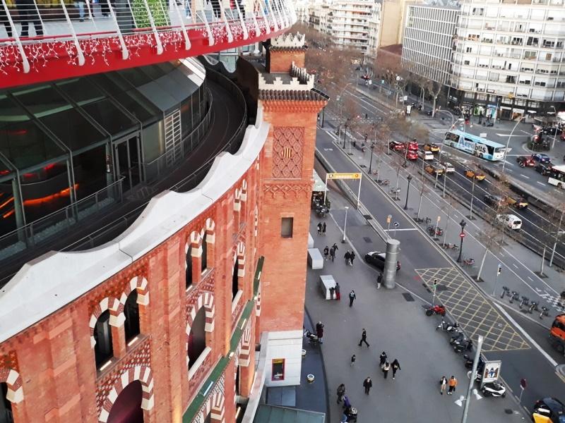 """Торговый центр """"Las Arenas"""" в Барселоне"""