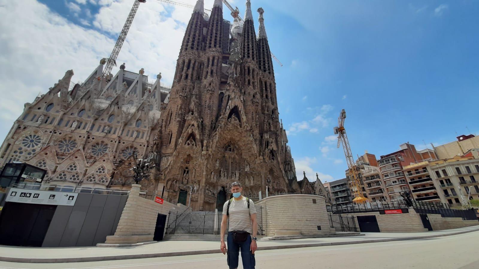 """Сегодня Саграда Фамилия в Барселоне """"подрастет"""" на 12  метров"""