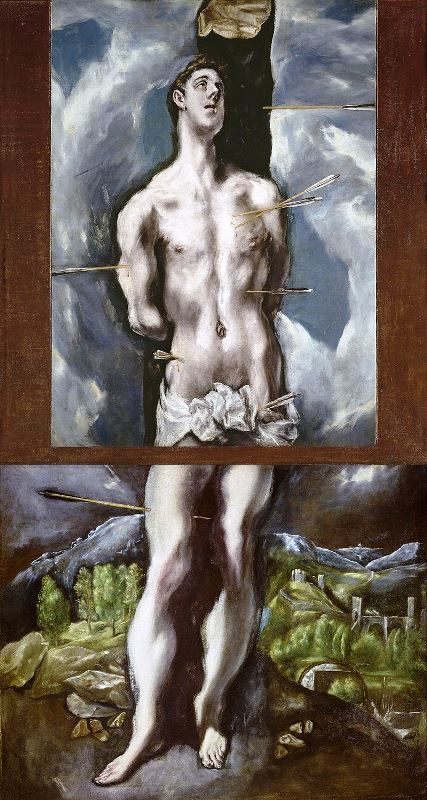 Святой Себастьян - Эль Греко