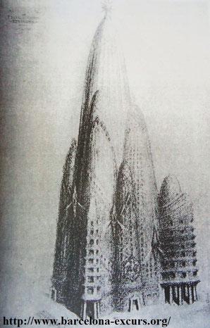 Гауди - проект отеля Аттракцион