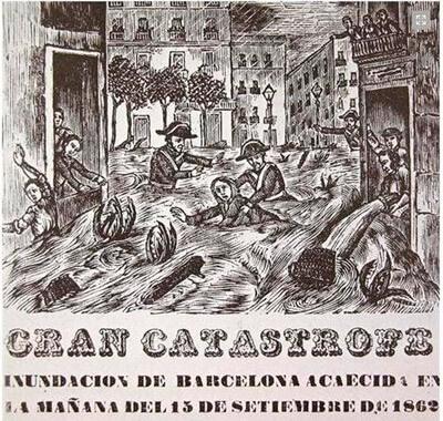 Великое барселонское наводнение 1862