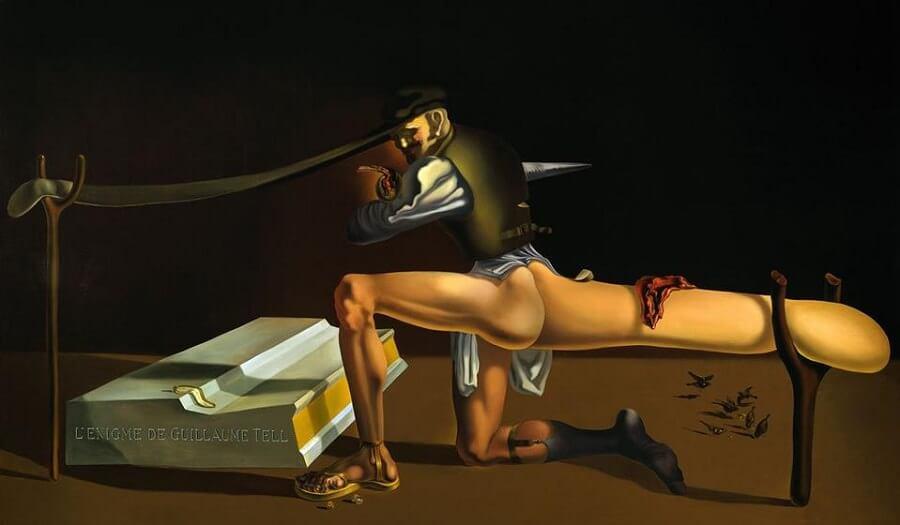 The Enigma of William Tell - Salvador Dali
