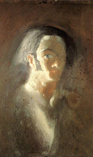 Автопортрет (1921) Сальвадор Дали