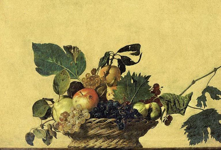 Корзина с фруктами - Караваджо