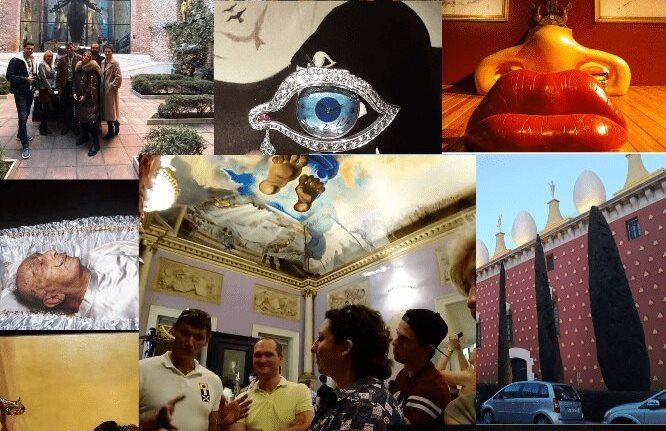 11 шедевров Театра-музея Дали в Фигерасе