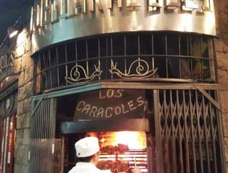 Улитки ресторан в Барселоне - Los Caracoles
