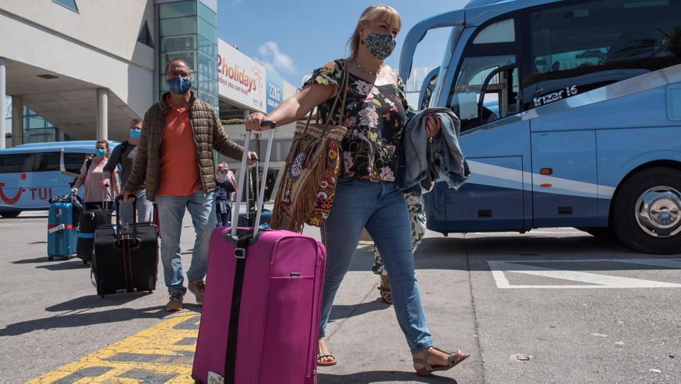 Немецкие туристы на Майорке