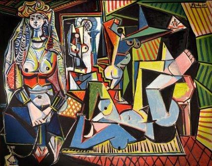 """Пабло Пикассо. """"Алжирские женщины"""" (1955)"""