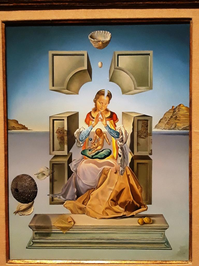 Madonna of Port Lligat (First Study) - Salvador Dali