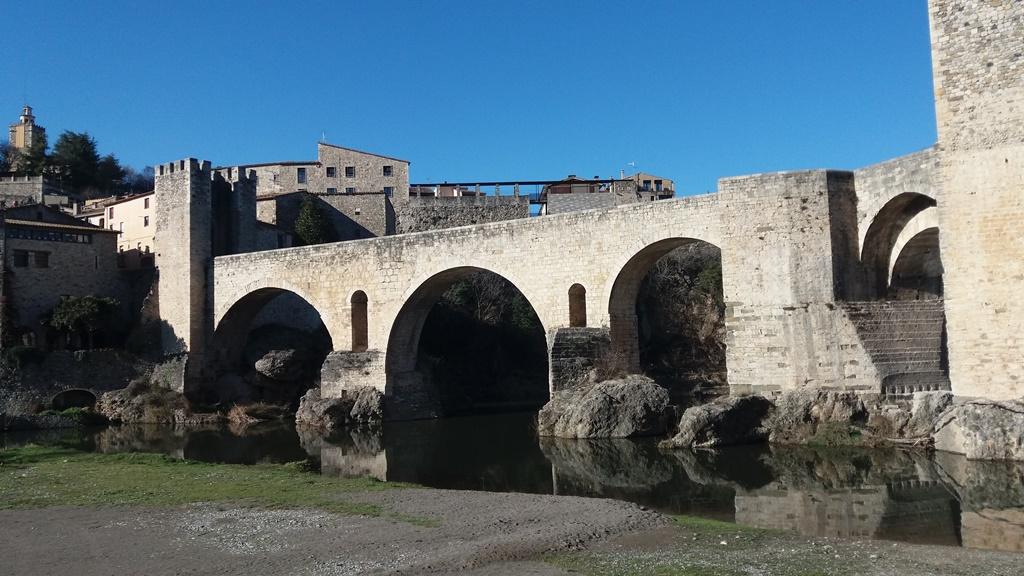 Бесалу - средневековая Каталония