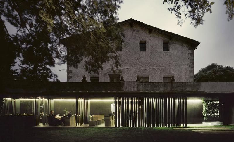 Les Cols - мишленовские рестораны Каталонии