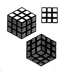 Bocetos del cubo de Rubik. Tomado de la sentecia del Tribunal General de la UE