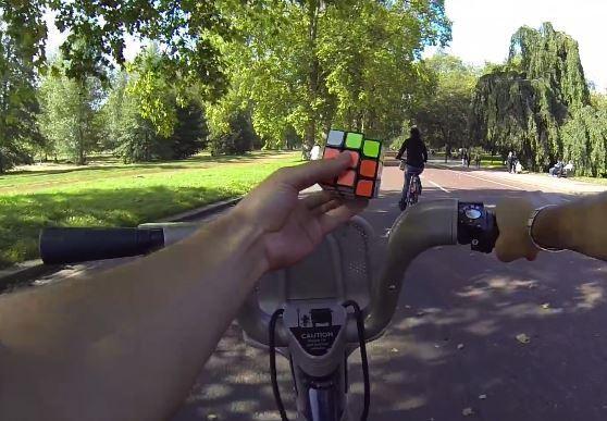 Rubik Cube Bike