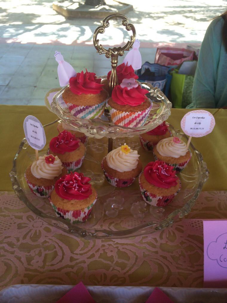 Les Cupcakes de Lily pour la contacter cliquez sur la photo