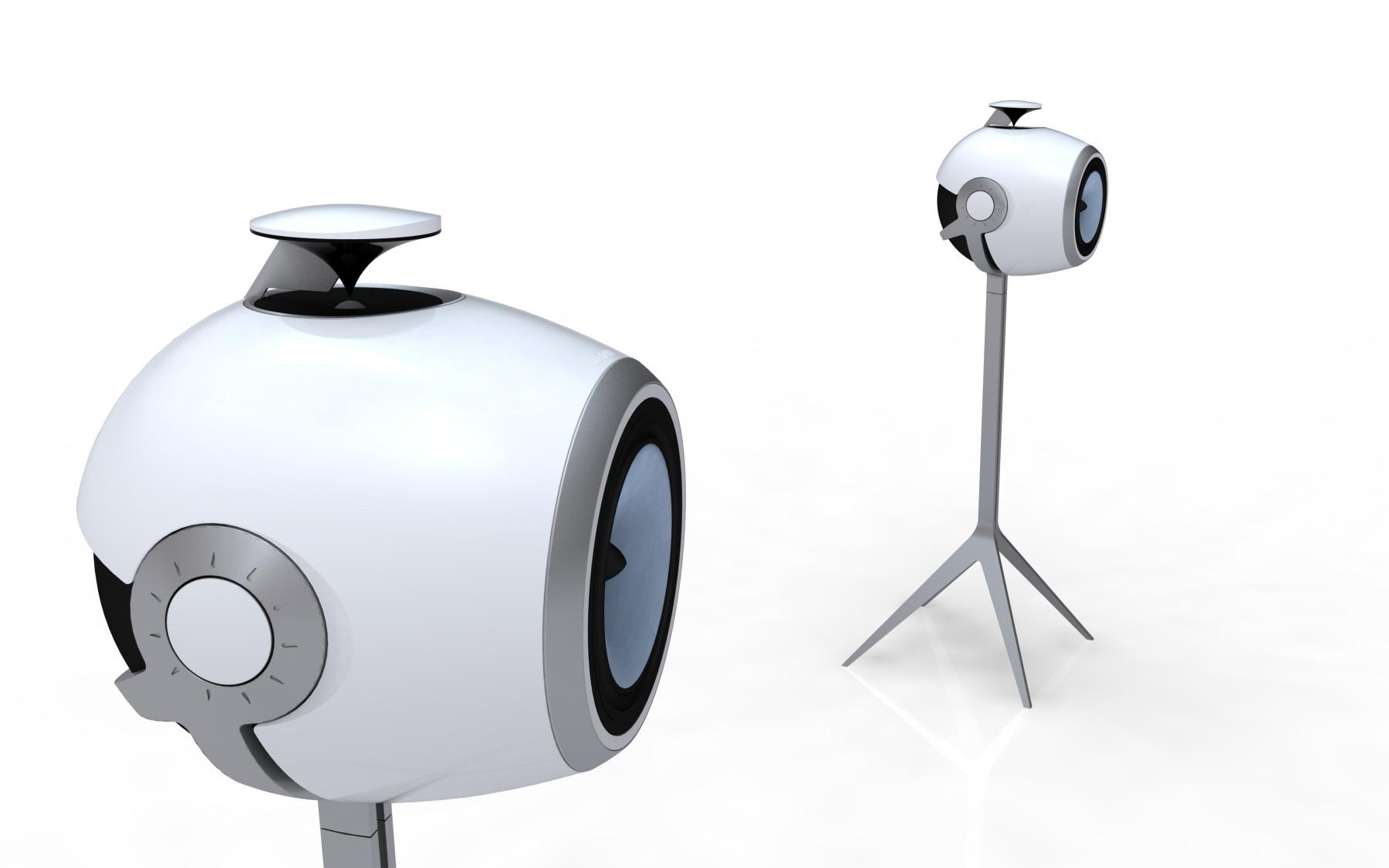 DESIGNSTUDIE // Lautsprecher 360