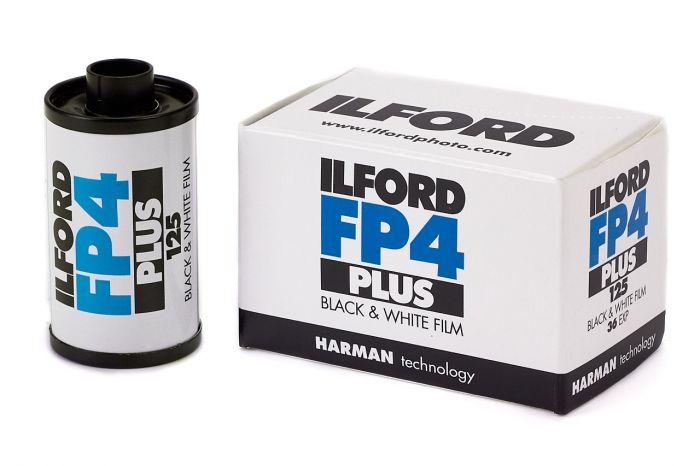 Der Ilford FP4 - ein einfach zu entwickelnder Film für Potrait und Landschaft