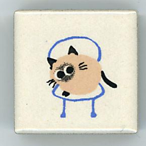 Shinzi Katoh シンジカトウ ピチタイル猫 ねこ イラスト2