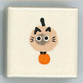 Shinzi Katoh シンジカトウ ピチタイル猫 ねこ ・ ドット