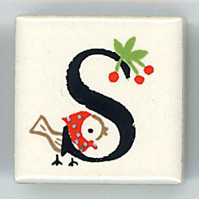 Shinzi Katoh シンジカトウ ピチタイル S アルファベット