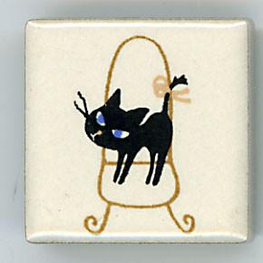 Shinzi Katoh シンジカトウ ピチタイル猫 ねこ イラスト5
